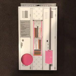 Locker Luxe Hanging Shelf - Pink